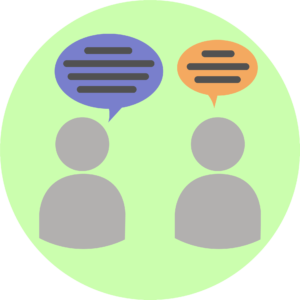 Illustration showing good communication.