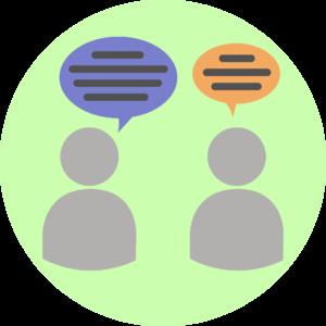 Illustration showing good communication.