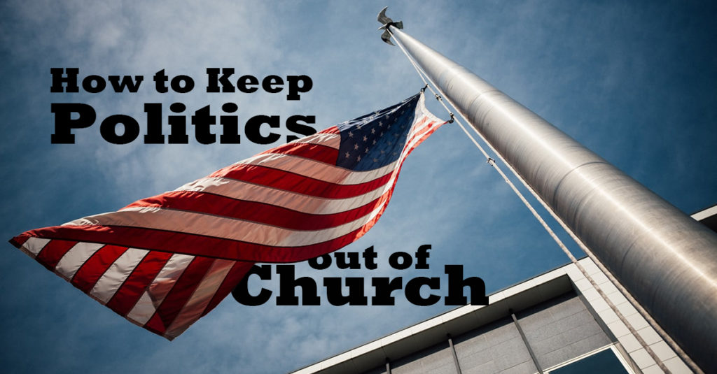 Politics and church photo