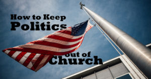 Politics and church photo